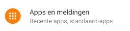 Apps en meldingen