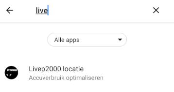 App zoeken